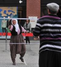 Badminton aşkı